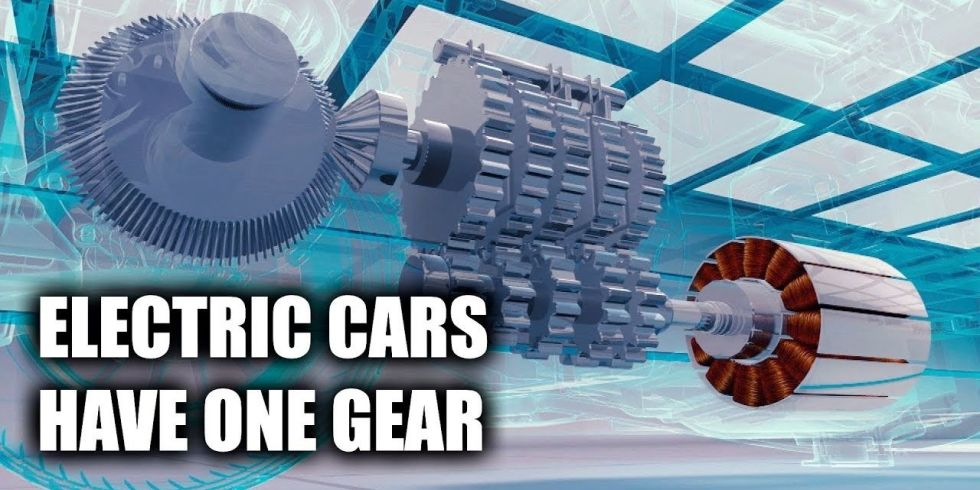 Xe điện chỉ có một cặp bánh răng trong hộp số?