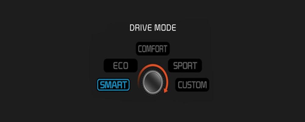Các chế độ lái Driving Mode khác nhau trên một chiếc xe ô tô hiện đại