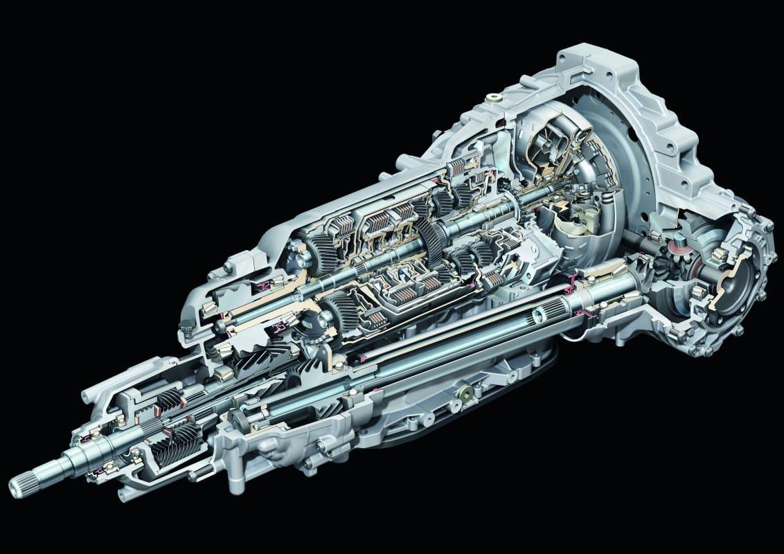 Tiptronic Transmission 8 cấp của Audi
