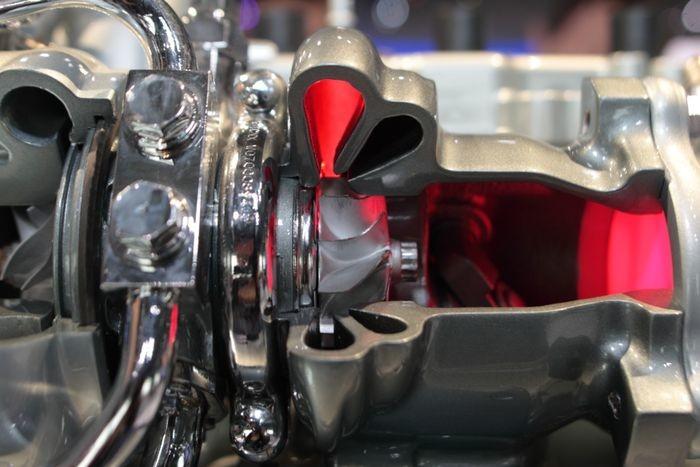 Động cơ đơn (Single turbo)