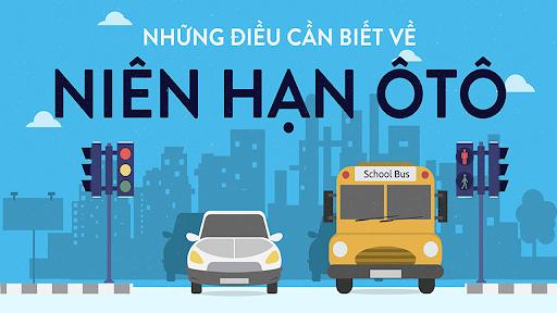 Những điều cần biết về niên hạn sử dụng xe ô tô Việt Nam