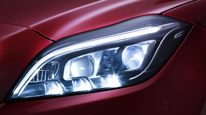 Công nghệ đèn LED Multibeam của Mercedes