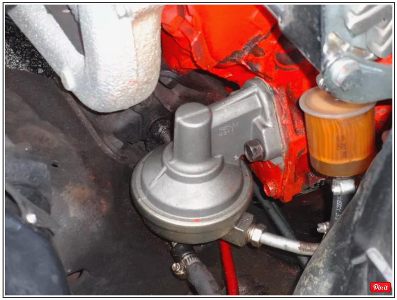 3 sự cố thường gặp của bơm nhiên liệu kiểu cơ khí (loại cũ)