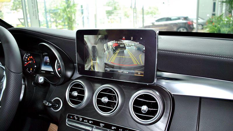Hệ thống camera 360 trên ô tô