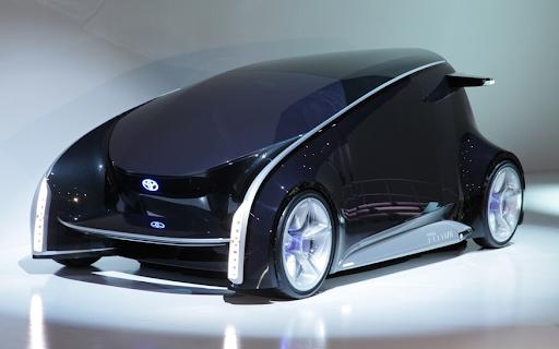 Toyota giới thiệu Fun Vii, 1 chiếc xe trông giống sự kết hợp giữa chuột máy tính khổng lồ và 1 chiếc smartphone