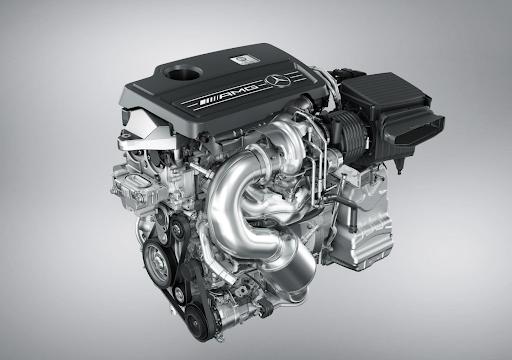 Xe Mercedes AMG - động cơ cải tiến