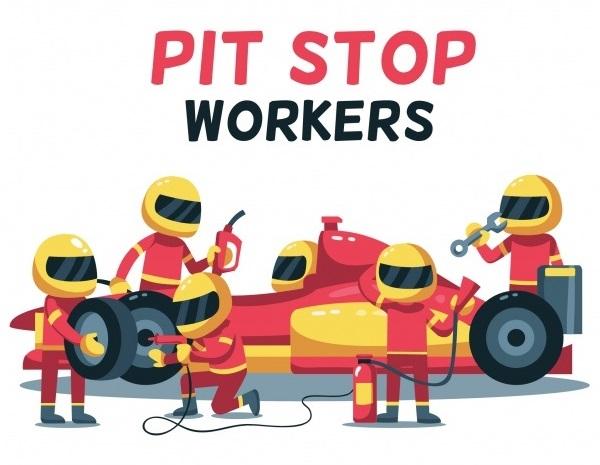 Đội ngũ kỹ thuật Pit Stop