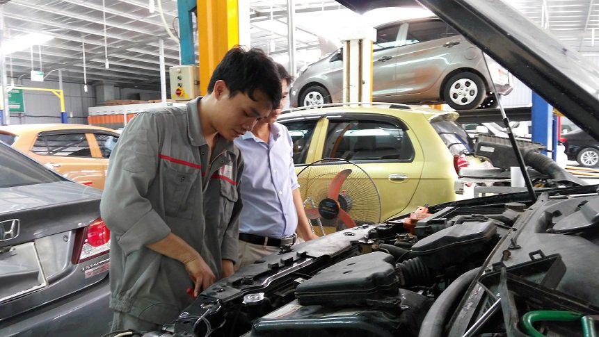 An toàn lao động - Điều quan trọng trong lĩnh vực kỹ thuật ô tô