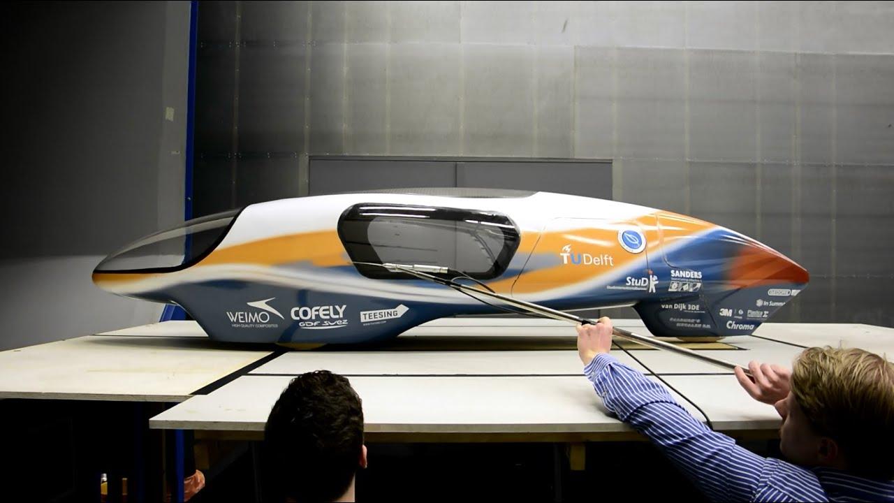 Ecorunner V - chiếc xe tối ưu nhất trên thế giới về khí động học