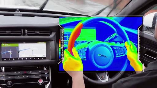 Công nghệ vô lăng cảm biến nhiệt của Jaguar - Sự hỗ trợ đắc lực cho tài xế