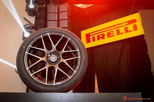 Lốp ô tô chống xịt của Pirelli