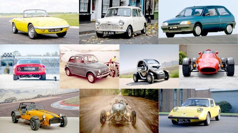 Top 10 mẫu xe ôtô nhẹ nhất từ trước đến nay