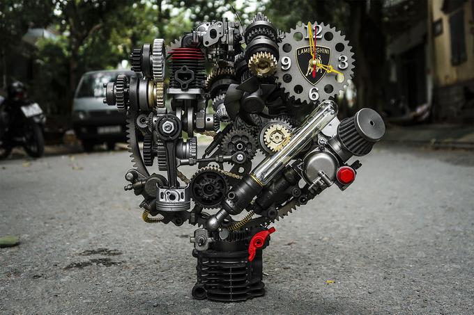 Chàng trai 8x Đà Lạt từ bỏ học Đại học IT đến với việc trang trí, thổi hồn linh kiện ô tô, xe máy - H6