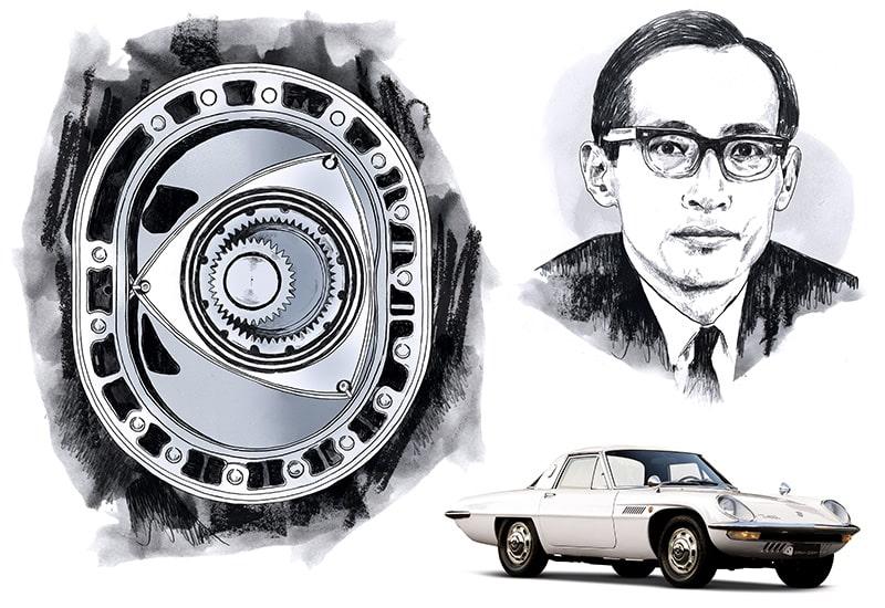 Kenichi Yamamoto, cha đẻ của động cơ Wankel Mazda.