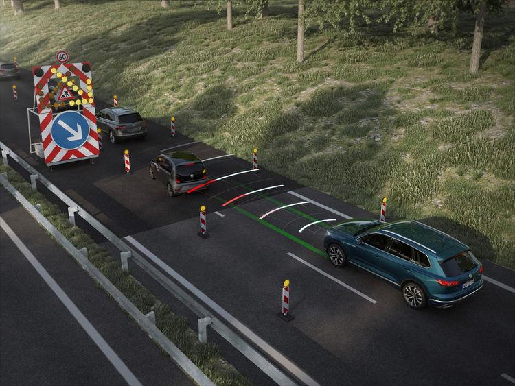 Nguyên lý hoạt động của Hệ thống giữ làn đường - Lane Keeping System