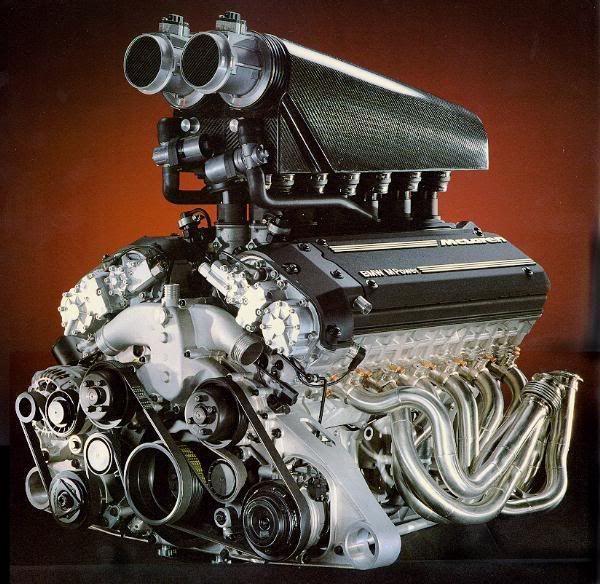 Động cơ xăng S70/2 DOHC V12 - Sự hợp tác của McLauren và BMW