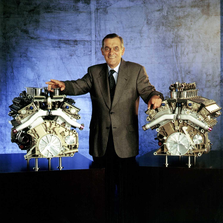 Paul Rosche cùng thành tựu động cơ V12