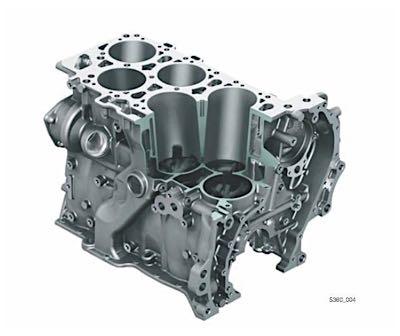 Kết cấu động cơ VR6 của Volkswagen