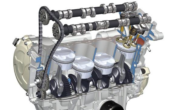 Kết cấu động cơ I4