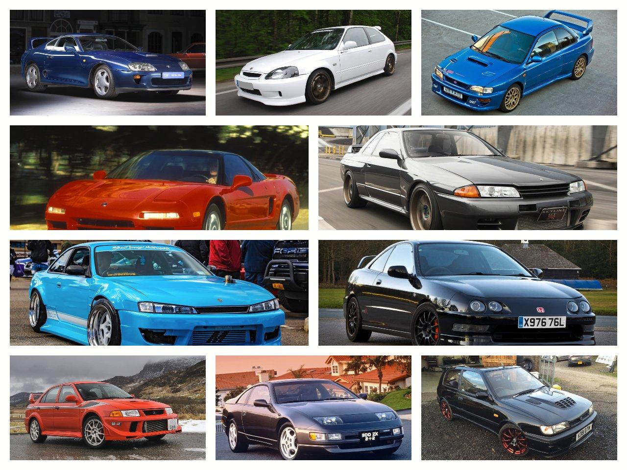 """Những chiếc xe JDM """"đỉnh"""" nhất thập niên 90"""