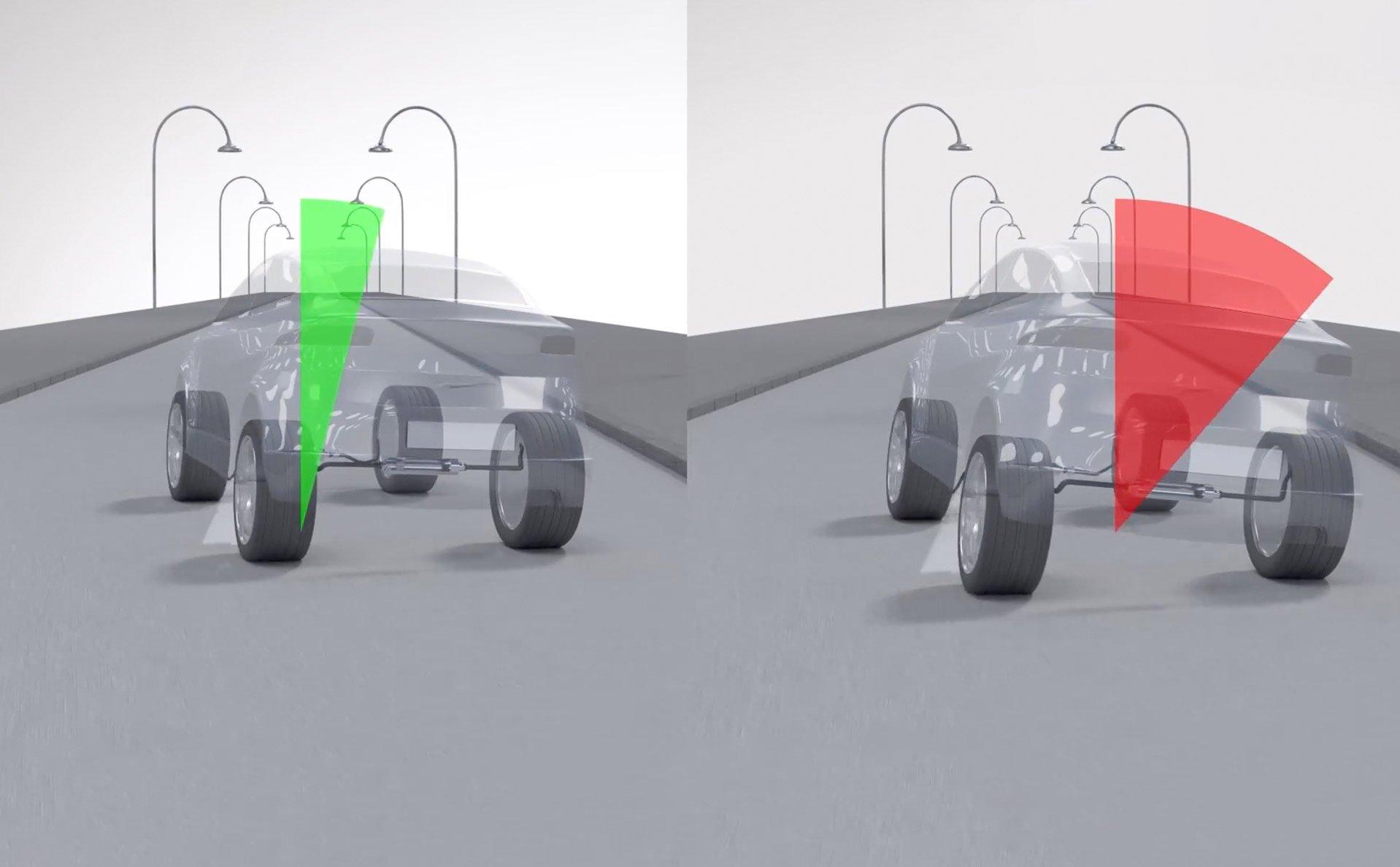 Một số trang bị cao cấp cho khung gầm ô tô, giúp xe lái ổn định