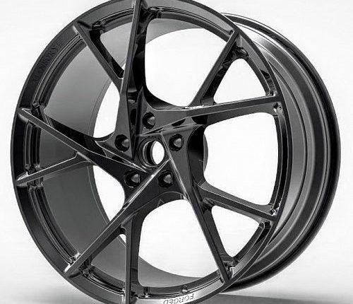 Fully-forged Wheels (5 Diamond Black).