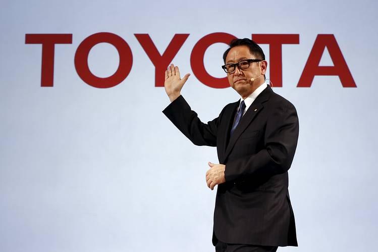 Chủ tịch Toyota Akio Toyoda