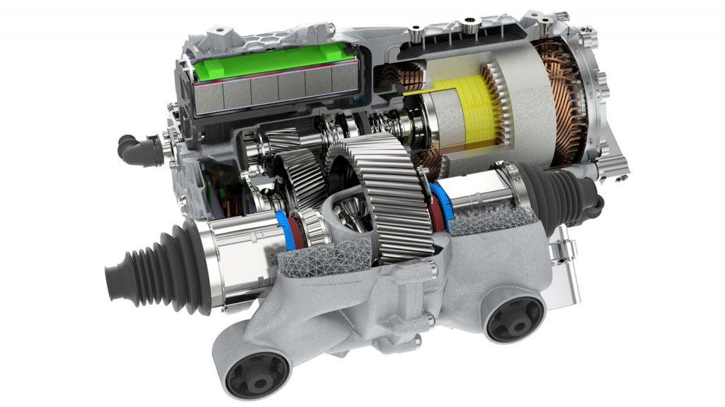 Porsche áp dụng in 3D cho hệ thống truyền động điện với nguyên mẫu ban đầu