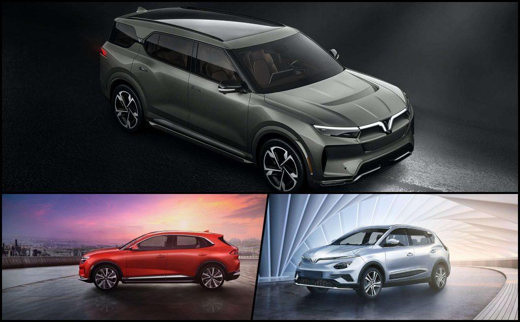 Ba mẫu ô tô điện VinFast sắp ra mắt, dự kiến sẽ tạo ra làn gió mới trên thị trường xe điện