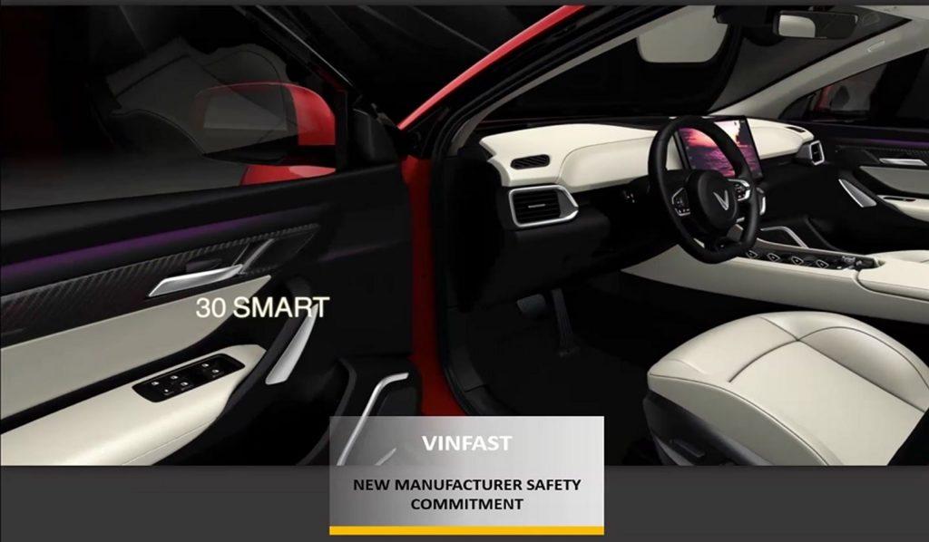 Các mẫu SUV điện của VinFast có thiết kế rất đẹp mắt, được nhiều tổ chức đánh giá xe chấm điểm cao.