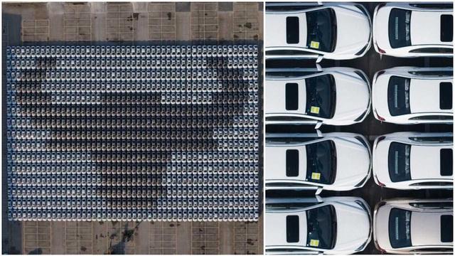 Geely lập kỷ lục xếp ôtô thành hình đầu trâu khổng lồ mừng Tết Nguyên Đán