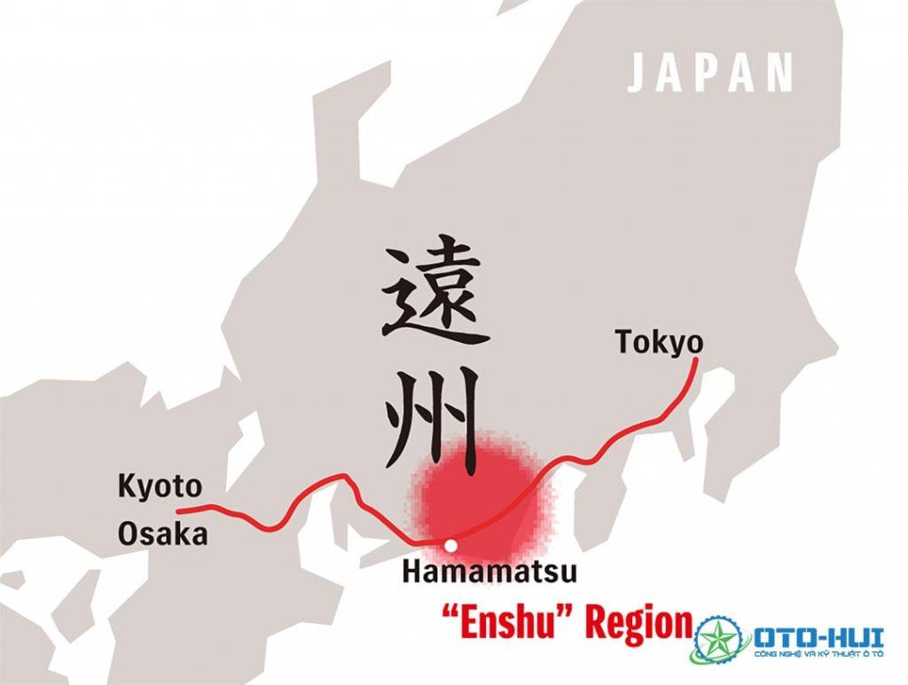 Hamamatsu (Enshu) - Trụ sở đầu tiên của Suzuki
