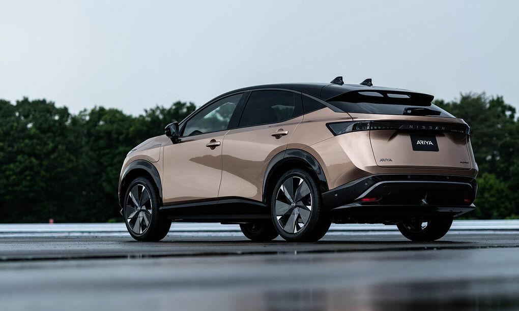 Một mẫu xe điện của nissan. Ảnh: Nissan