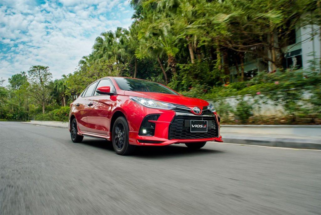 Thiết kế bản thể thao Toyota Vios 2021 phiên bản GR-S