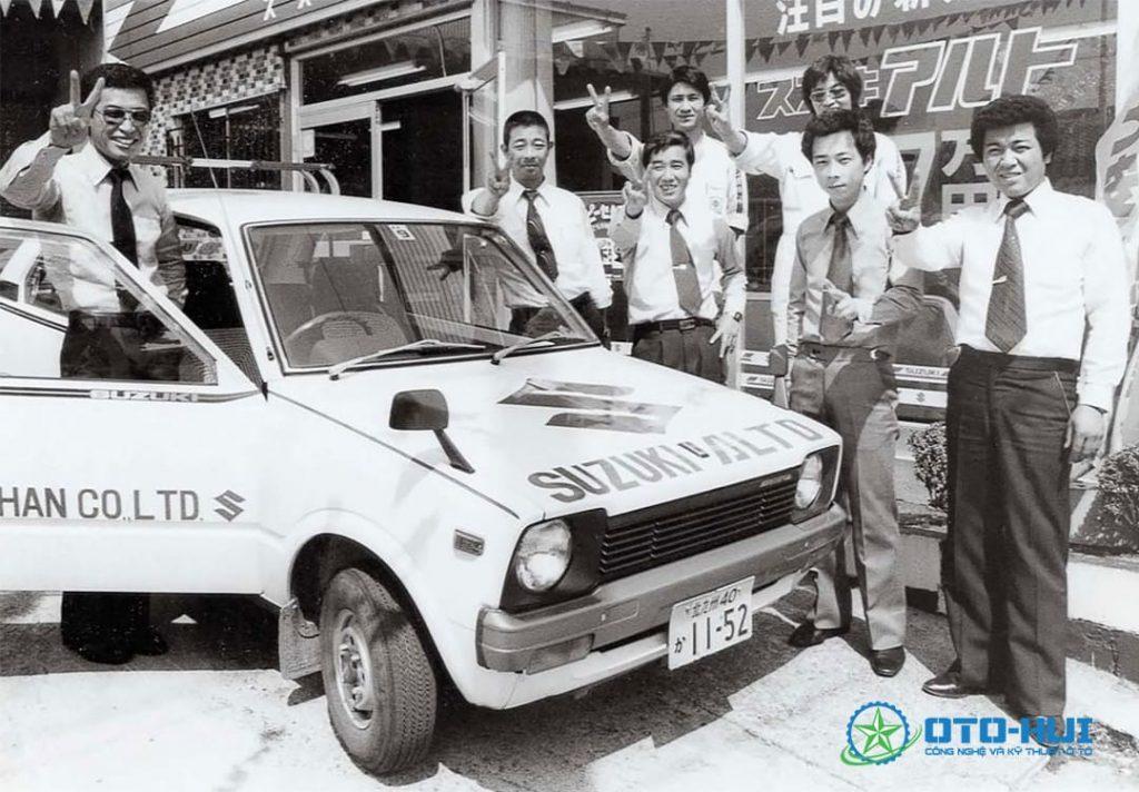 Kỷ nguyên Suzuki Alto