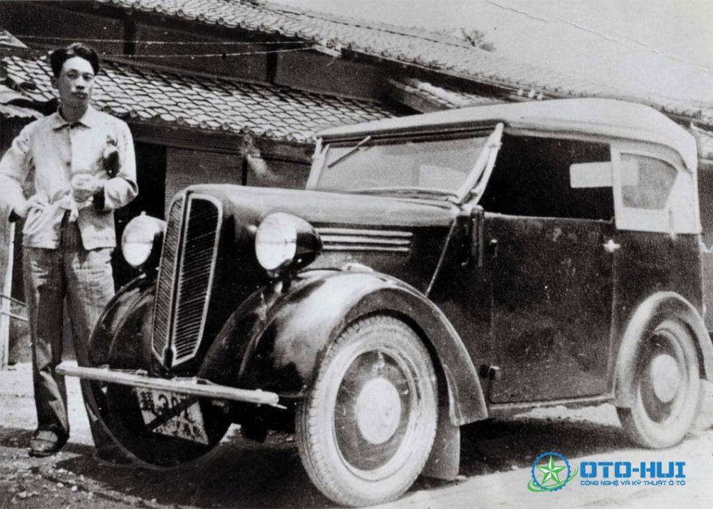 Ô tô nguyên mẫu đầu tiên của Michio Suzuki