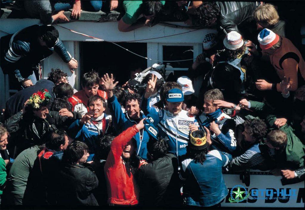 Nhóm Guy Bertin, Bernard Millet và Philippe Guichon dành chiến thắng cho Suzuki