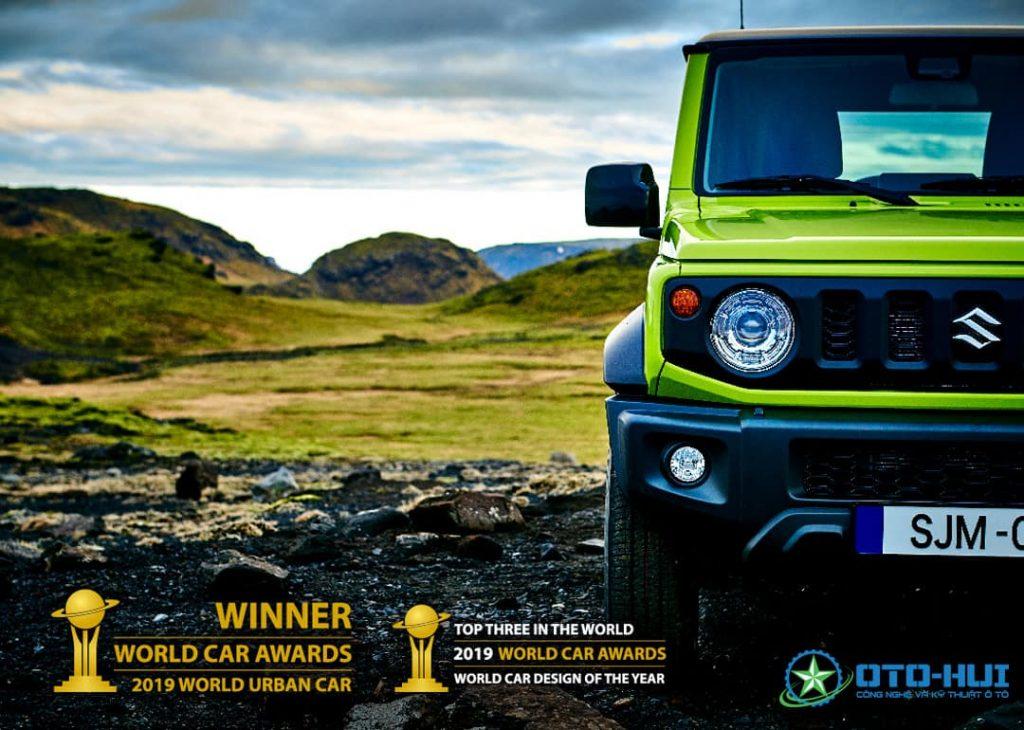 Suzuki Jimny thế hệ thứ tư đạt giải thưởng lớn của về dòng xe đô thị năm 2019