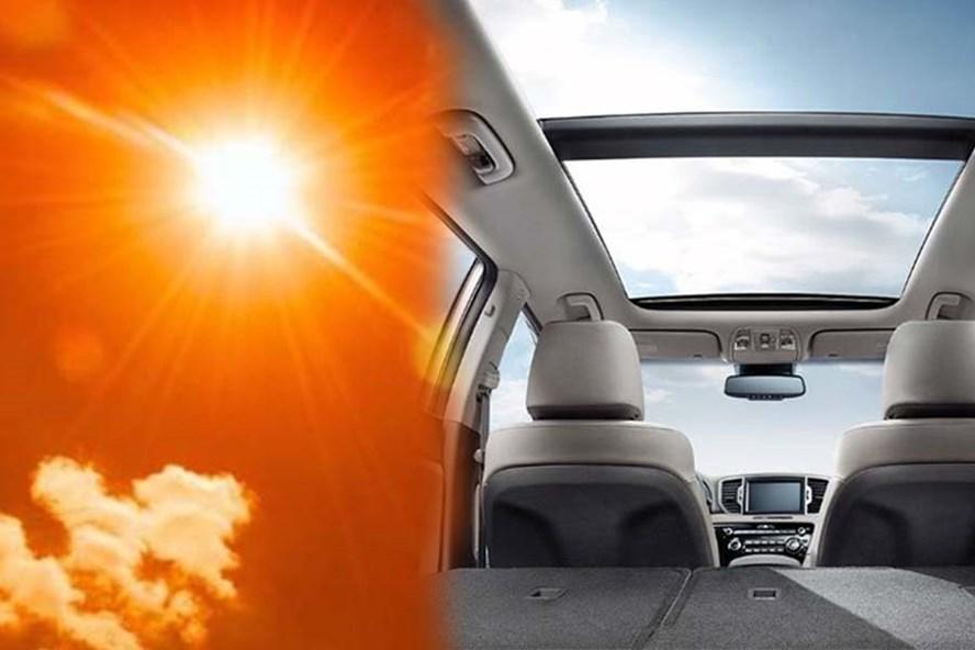 Cần làm gì khi cửa sổ trời khiến nhiệt độ trong ôtô tăng cao?