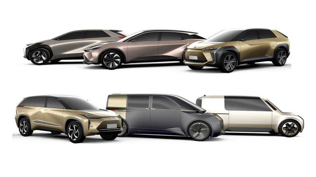 Toyota tổng tấn công vào phân khúc ô tô điện