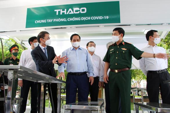 Xe chuyên dụng THACO phục vụ tiêm chủng lưu động có gì đặc biệt?