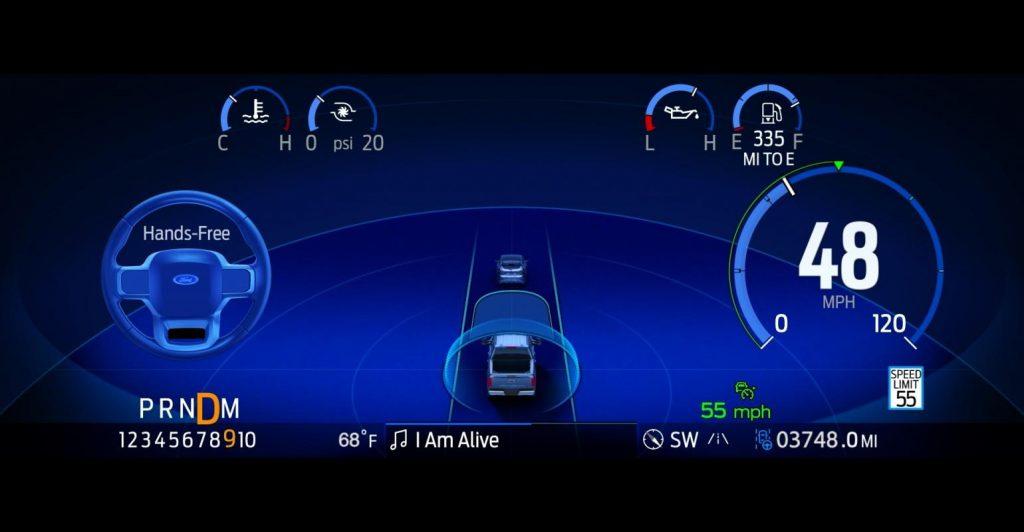 Hệ thống tự lái Blue Cruise của Ford dự kiến ra mắt vào năm 2022