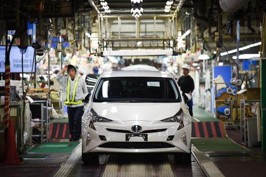 Do giá nhập thép tăng cao, rất có thể hãng Toyota sẽ tăng giá ô tô.