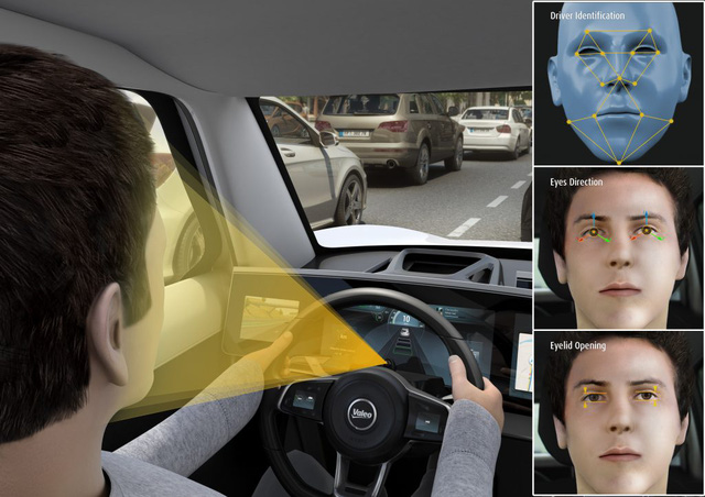Mô phỏng hệ thống giám sát người lái.