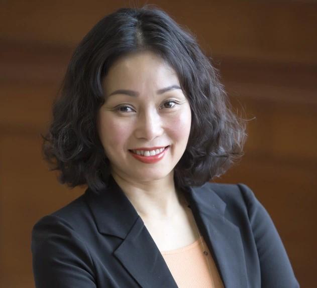 """Bà Lê Thị Thu Thuỷ cho biết VinFast đang áp dụng chiến lược """"kiềng 3 chân"""" để phát triển công nghệ pin."""