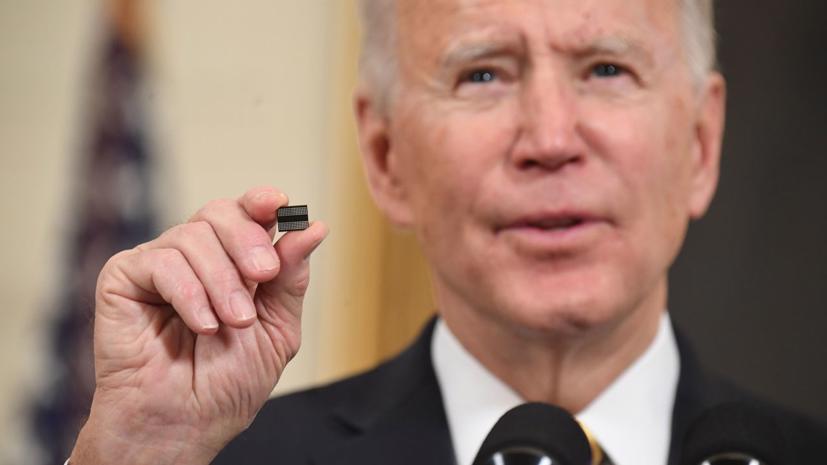 Chính quyền Mỹ đang thực hiện các biện pháp cứng rắn trước tình trạng thiếu chip bán dẫn.