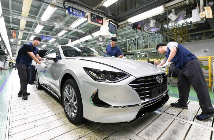 Hyundai lại tạm đóng cửa các nhà máy trong nước vì thiếu chip