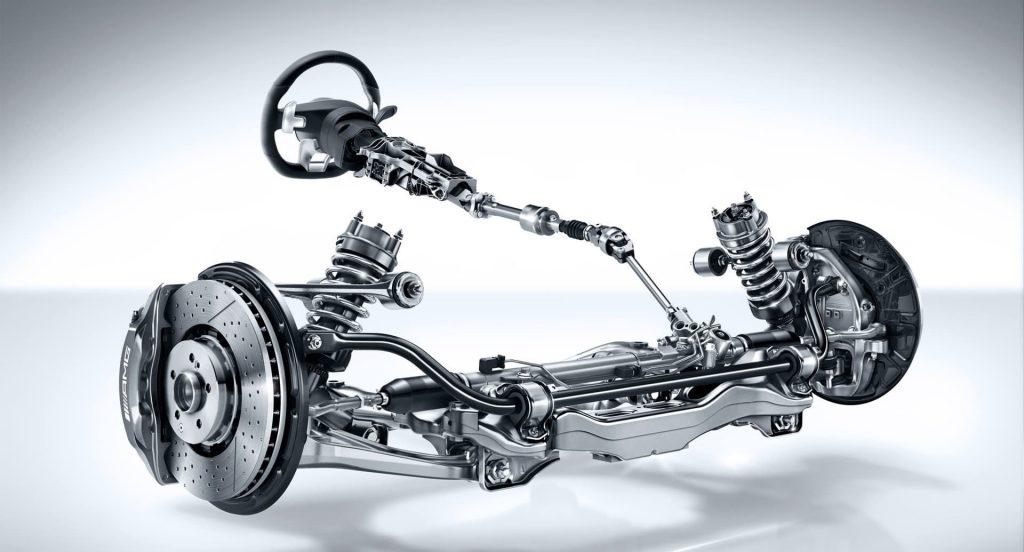 5 kiểu đặt động cơ điện trong hệ thống lái trợ lực điện (EPS).